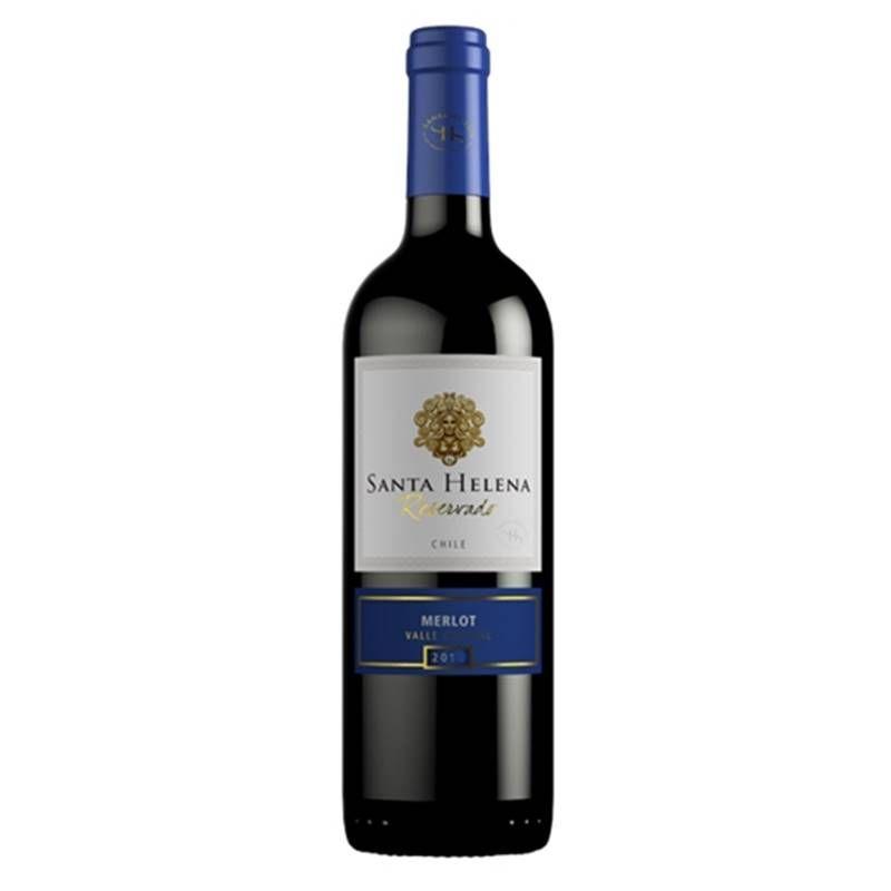 Vinho Santa Helena Reservado Merlot 750ml 03 Unidades