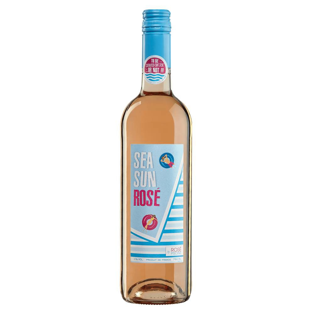 Vinho Sea Sun Rosé Piscine 750ml