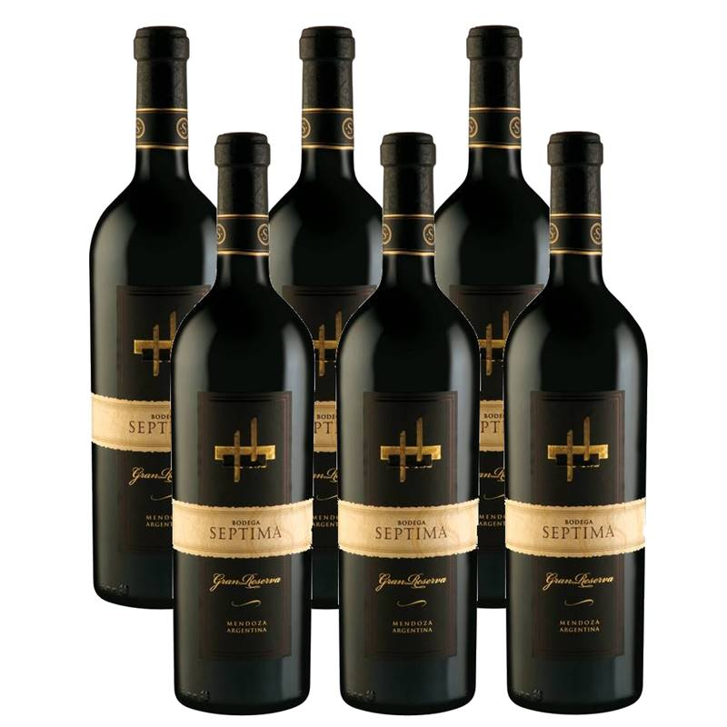 Vinho Septima Gran Reserva Blend 750ml 06 Unidades