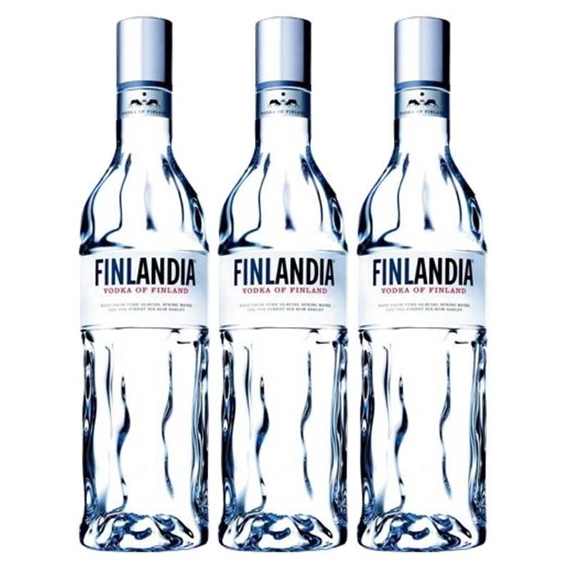 Vodka Finlandia 1 Lt 03 Unidades