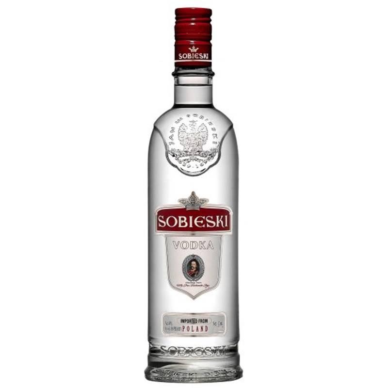 Vodka Polonesa Sobieski 1 Lt 06 Unidades