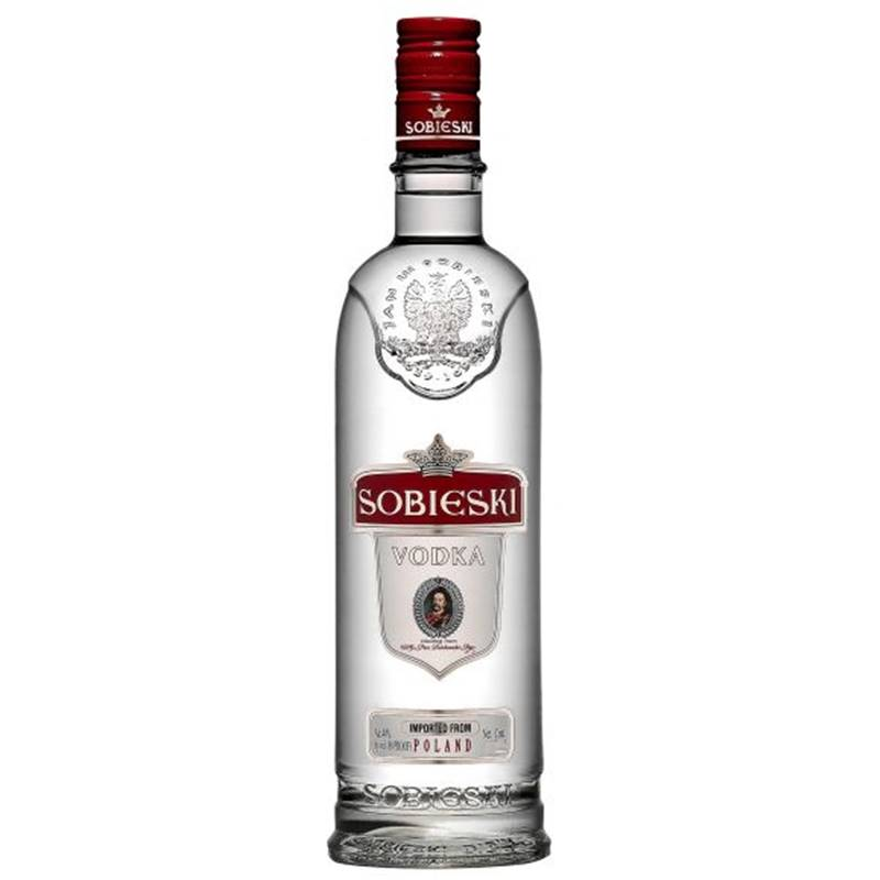 Vodka Polonesa Sobieski 750ml 06 Unidades