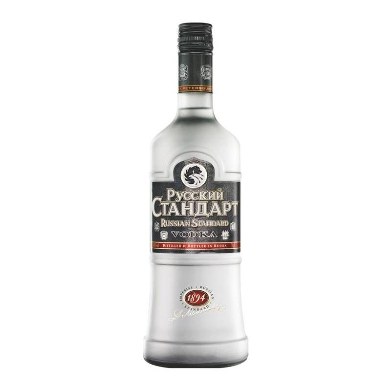 Vodka Russian Standard 1 Lt 06 Unidades