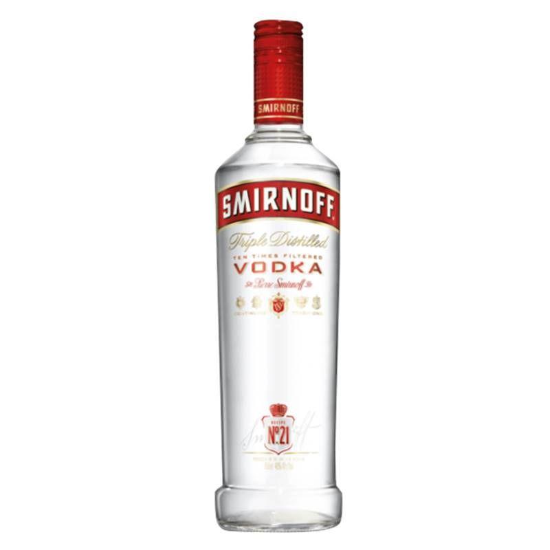 Vodka Smirnoff 998ml 06 Unidades