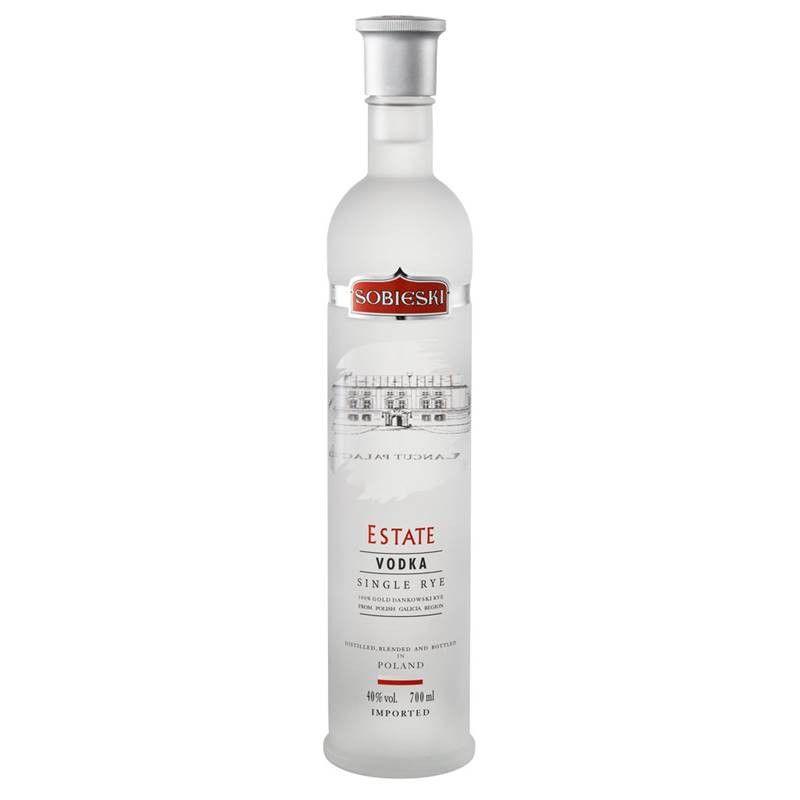 Vodka Sobieski Estate 700ml 03 Unidades
