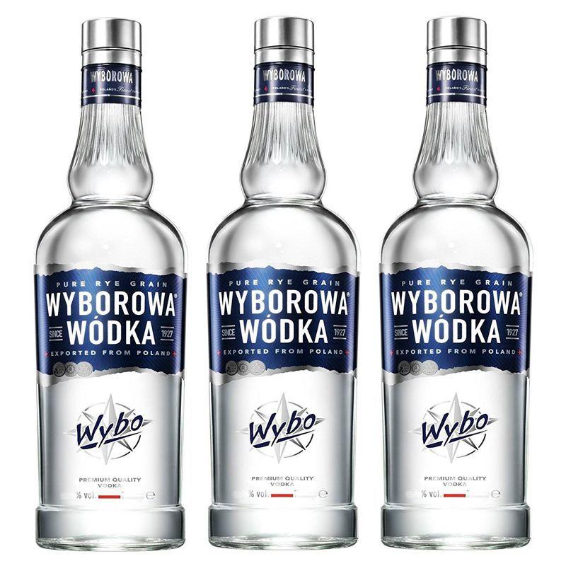Vodka Wyborowa 750ml 03 Unidades