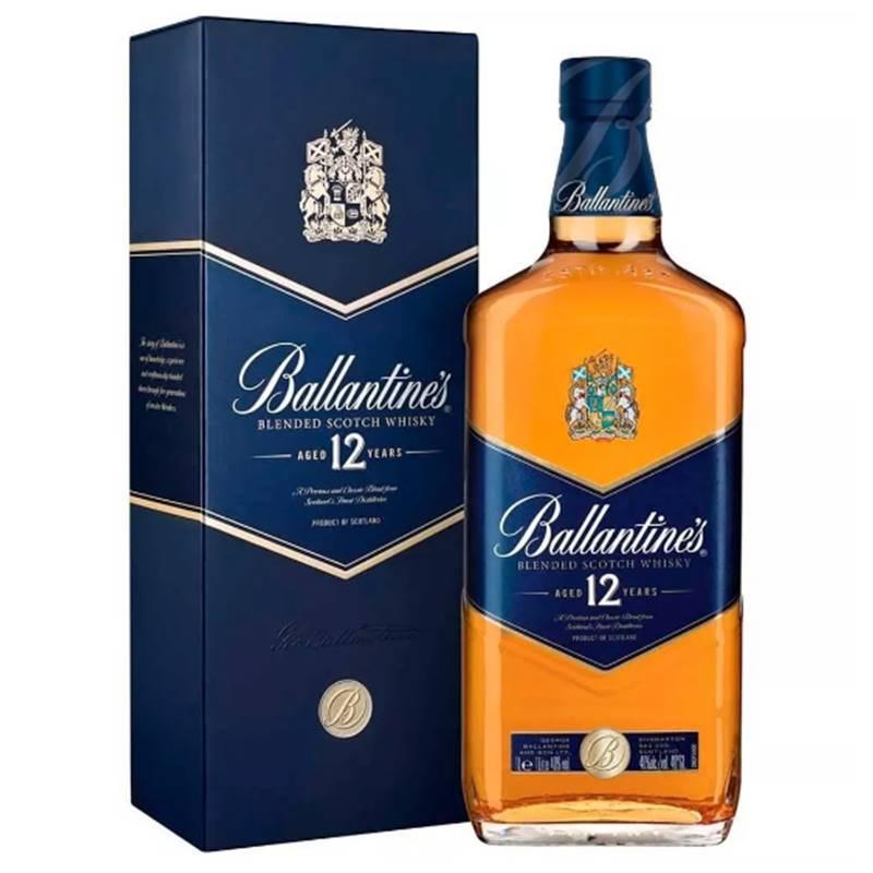 Whisky Ballantines 12 Anos 1 Lt