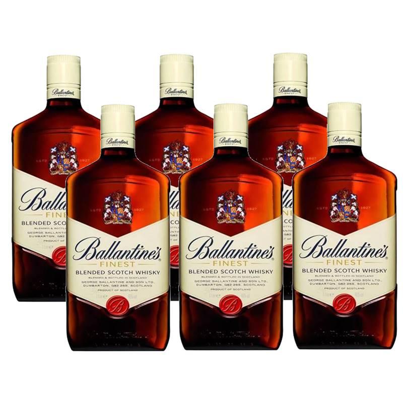 Whisky Ballantines Finest 08 Anos 1 Lt 06 Unidades