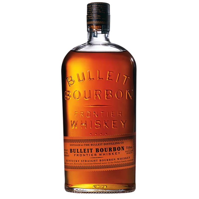 Whisky Bulleit Bourbon 750ml 03 Unidades