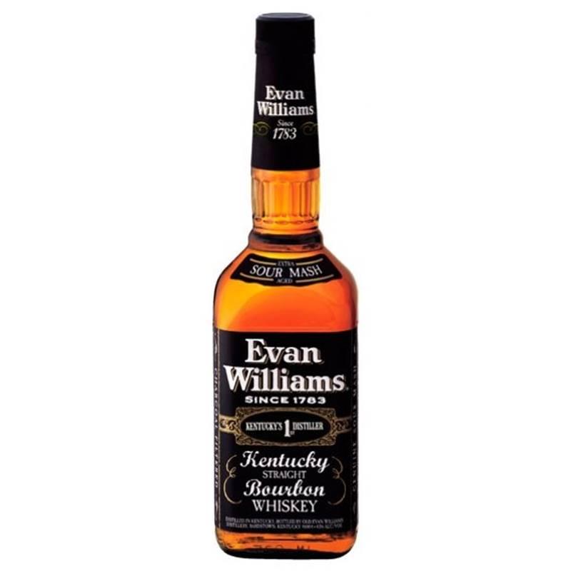 Whisky Evan Williams Kentucky Straight Bourbon 1 Lt 03 Unid.