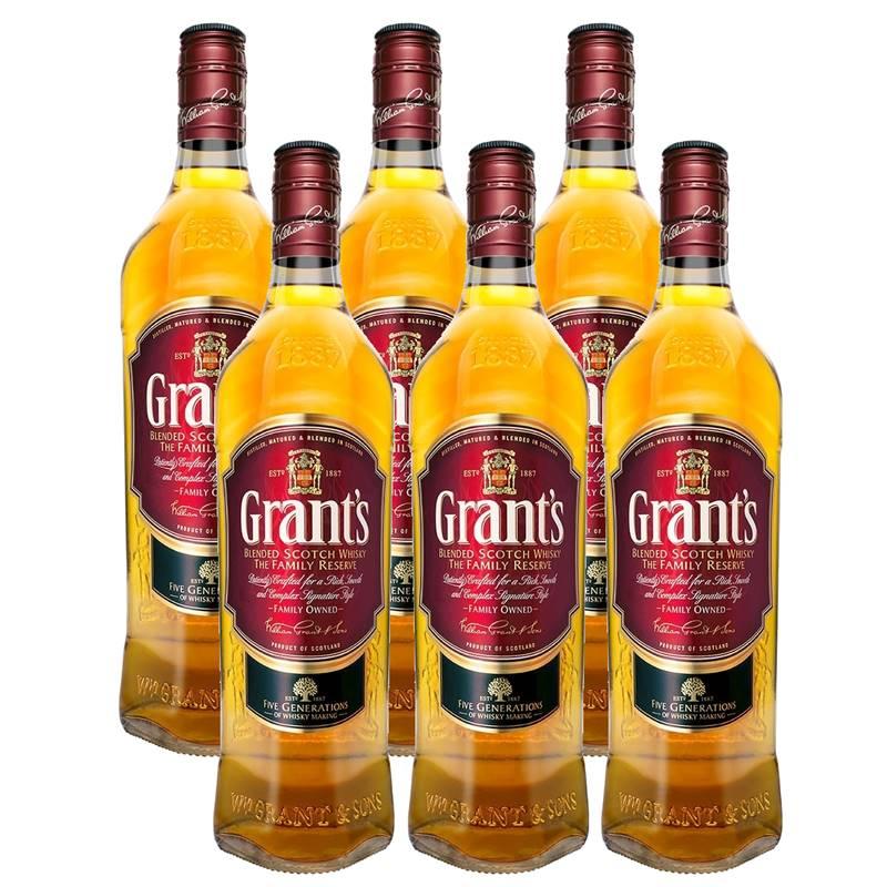 Whisky Grants Family Reserve 1 Lt 06 Unidades