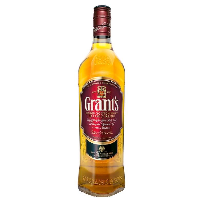 Whisky Grants Family Reserve 750ml 03 Unidades