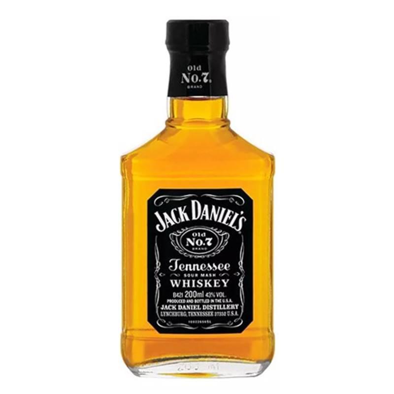 Whisky Jack Daniel's 200ml 03 Unidades