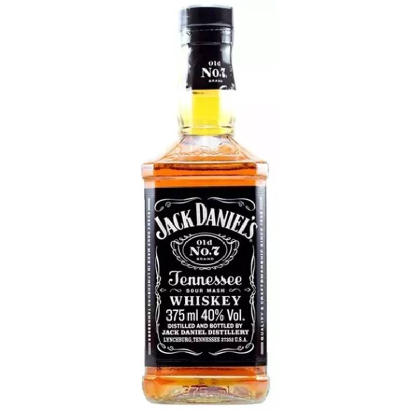 Whisky Jack Daniel's Tennessee 375ml 03 Unidades