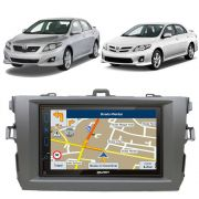 Central Multimídia Com Gps Corolla 2009 - 2013 Kouprey