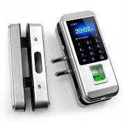 Fechadura Biométrica para Porta de Vidro iGlass300