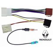 Kit Fácil Chicote Antena  Renault