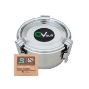 CVault Pote Aço Inox Hermetico + Boveda