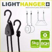 LightHanger Suporte Retrátil Refletor Filtro Led Etc Cultivo