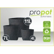 PROPOT Vaso de Feltro 4L kit 04 unidades
