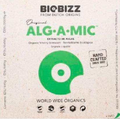Alg A Mic Vitalidade Organica Floração Biobizz