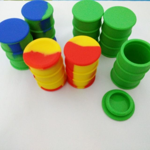 Container Silicone 26ml barril wax oil dab