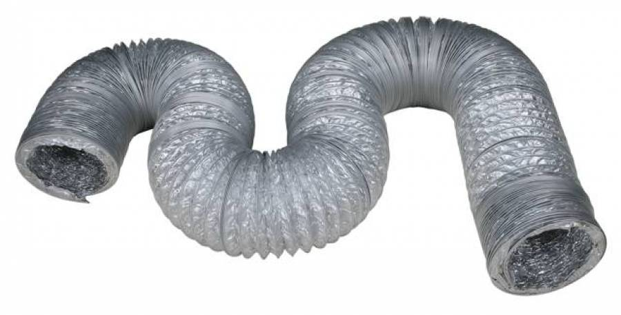 Duto Sanfonado Alumínio 125mm (metro)