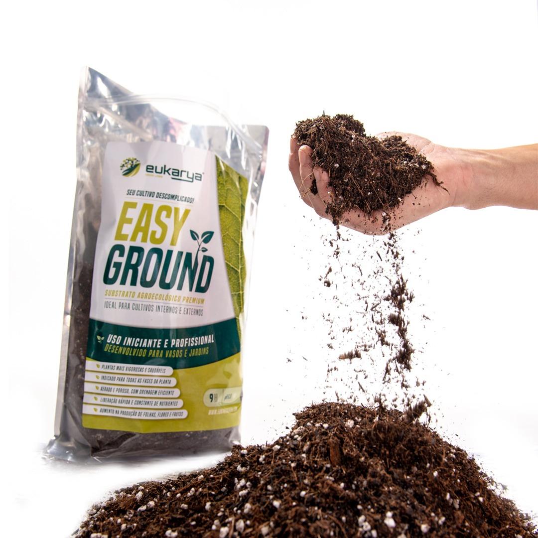 Easy Ground Substrato com Micorrizas