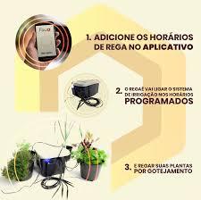 Favo regaê Controle Remoto Regas WiFi s/reservatorio