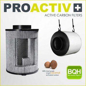 Filtro ProActive Filter 100mm 250m3/h Carvão Ativado