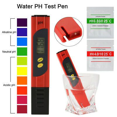 Medidor Ph Digital Para Piscina, Aquário, Spa, Água Hidro eletr
