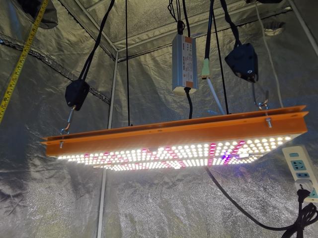 Quantum Board PRO-MID 120w Led Grow Full LM283B Samsung + Deep RED 660nm +UV+IR