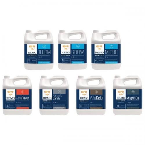 REMO Fertilizante Cultivo Indoor Pack Full 7x 1 litro