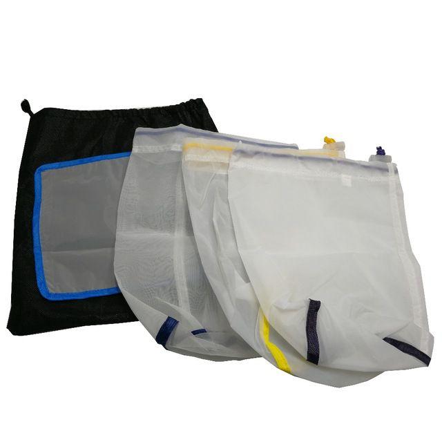 Saco Extração Hash Bubble Bags 1 Galão (4 litros) 3 sacos