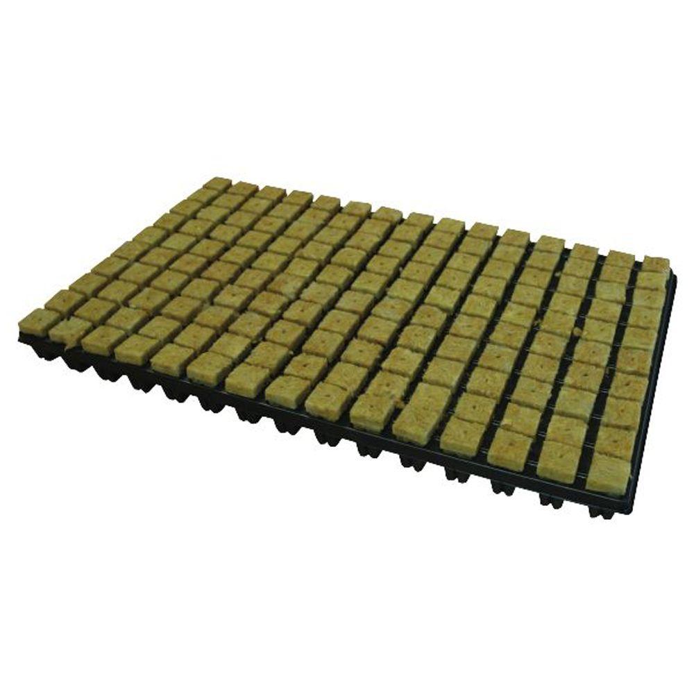 Stone Wool Cube - Lã de Rocha 2,5x2,5x4cm com bandeja