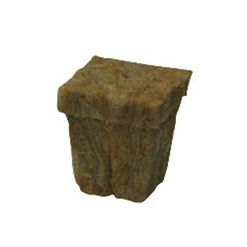 Stone Wool Cube - Lã de Rocha 3,5x3,5x4cm com bandeja