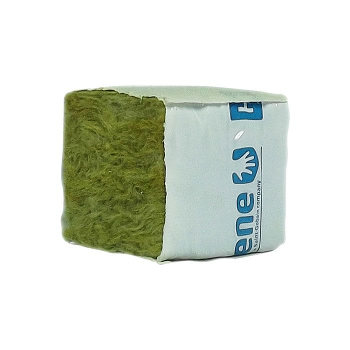 Stone Wool Cube - Lã de Rocha 4x4x4cm 10 UNIDADES