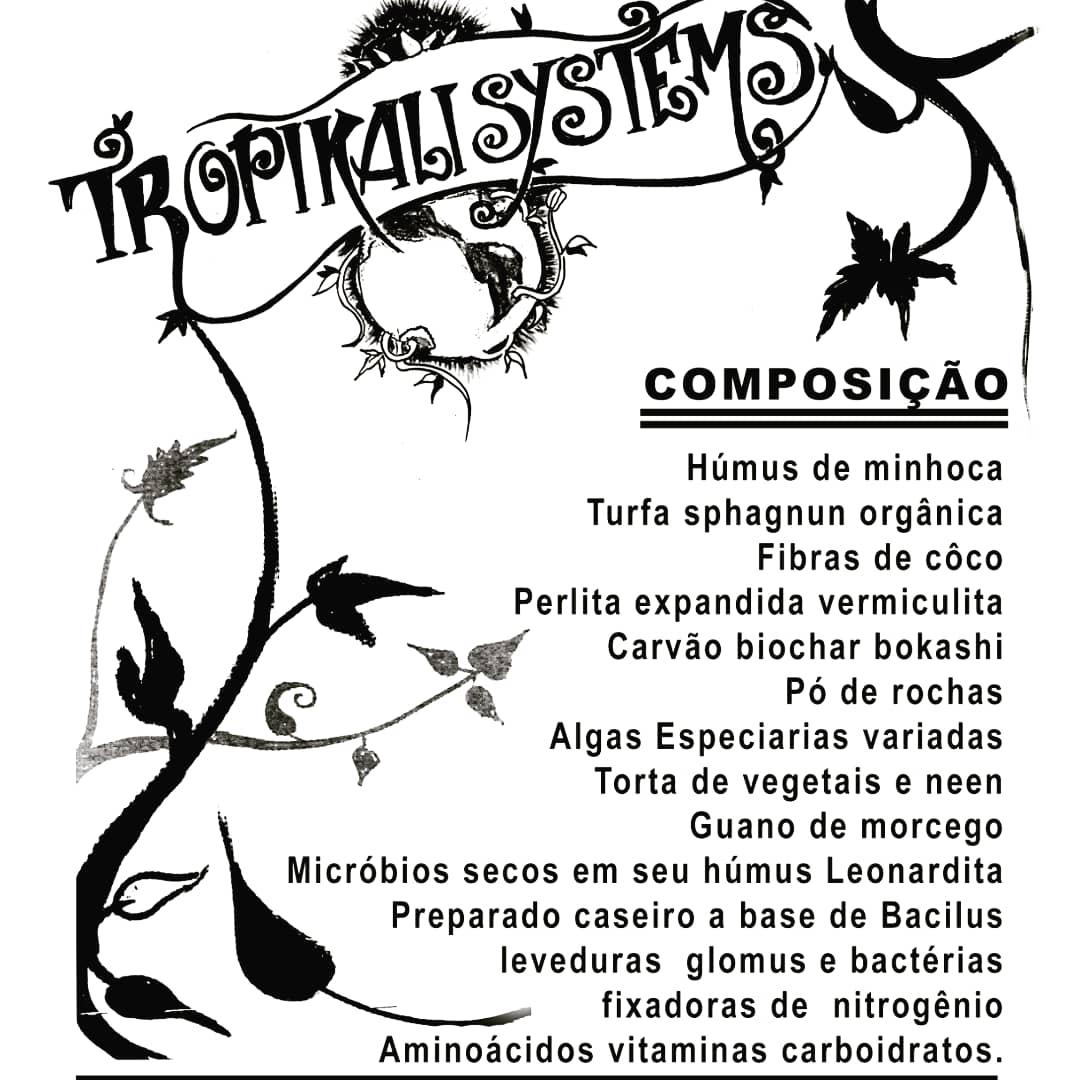 Substrato Super Soil Tropikali Systems