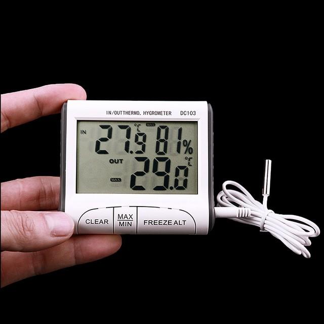 Termometro Higrometro Digital Indoor/Outdoor max/min