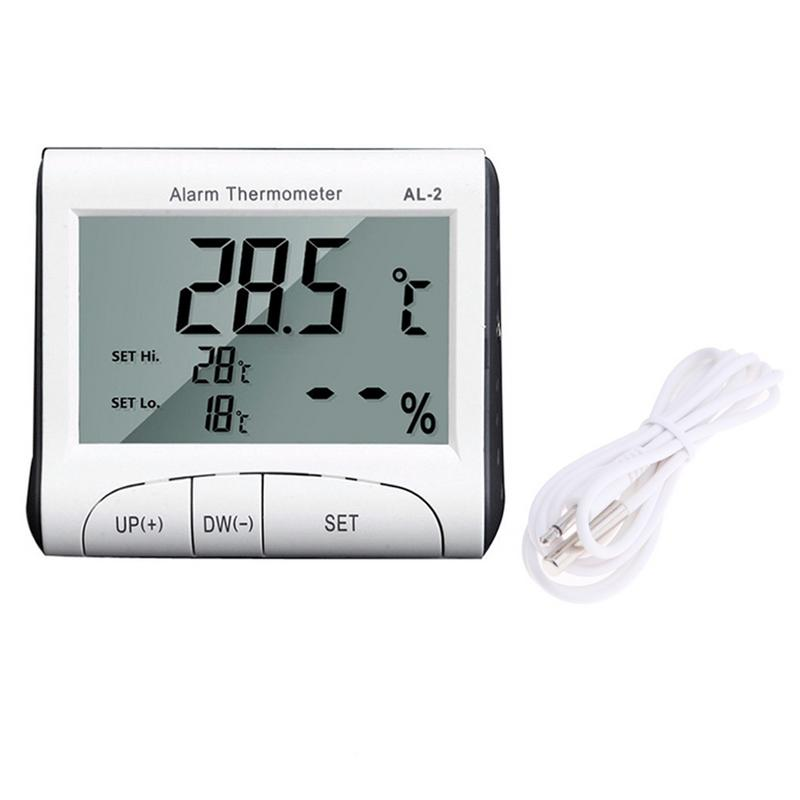 Termômetro Higrômetro com Alarme