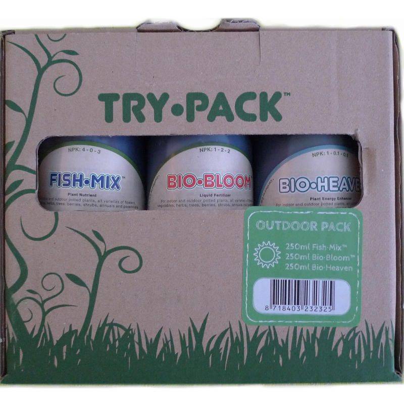 TryPack Outdoor Biobizz 250ml Lacrado