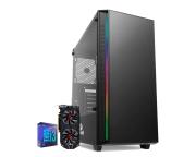 Computador Gamer Intel I3 9100F Gtx 1650 4GB Ram 8GB HD 1TB SSD 120GB