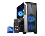 Computador Gamer Intel I5 10400F Rx 550 4GB Ram 8GB HD 1TB Ssd 120GB