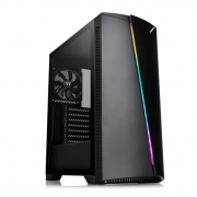 GABINETE GAMER THERMALTAKE H350 TG RGB PRETO - CA1R9-00M1WN-00
