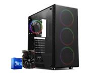 Pc Gamer Intel I3 10100F Rx 550 4GB Ram 8GB HD 1TB Ssd 120GB