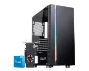Pc Gamer Intel I3 10105F Rx 550 4GB Ram 8GB HD 1TB SSD 240GB