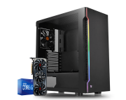 Pc Gamer Intel I5 10400F Rx 6700XT 12GB Ram 16GB HD 1TB Ssd 120gb