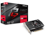 Placa de Video ASROCK Radeon RX 560 4GB Phantom Gaming DDR5 128BITS - 90-GA0600-00UANF