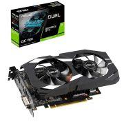 Placa de Vídeo ASUS Geforce GTX 1660 TI Dual OC 6GB DDR6192 BITS - DUAL-GTX1660TI-O6G