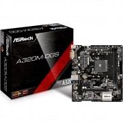 Placa Mae ASROCK Micro ATX (AM4) DDR4 - A320M-HD